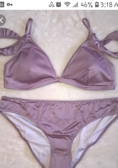 eecdffbb2d883 PINK Victoria's Secret Swim | Vs Pink Brand New With Tags Lilac ...